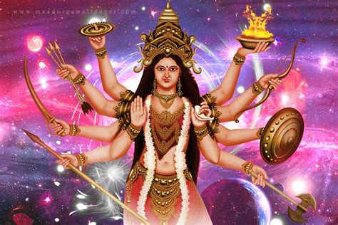 Digital Navratri Mata Wallpaper by Maa Durga Wallpapers Images Gallery
