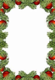 free christmas borders png