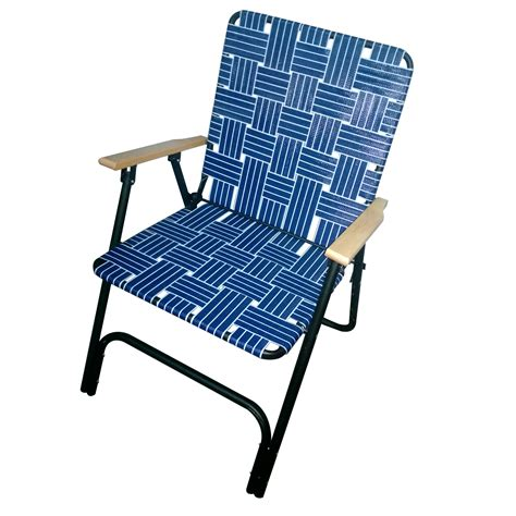 sears folding lounge chairs deluxe web chair blue outdoor living patio