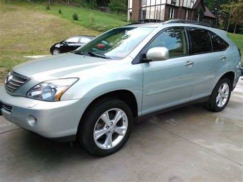 sporty lexus 4 door sell used 2008 lexus rx400h base sport utility 4 door 3 3l
