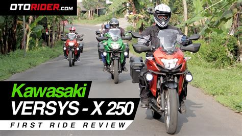 kawasaki versys x 250 2017 ride review indonesia