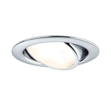 spot led cuisine plat spot led plat encastrable orientable 4 2w chromé