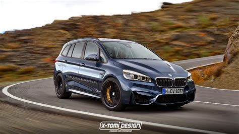 bmw m2 gran tourer is straight outta photoshop carscoops com