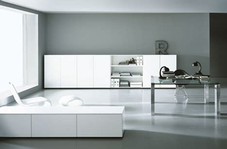 elemental elegance  minimalist office interior designs