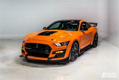 Gt500 Shelby Mustang Ford Orange 2022 Continues