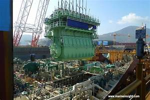 How Massive Main Engines Are Fitted In The Ship U2019s Engine Room