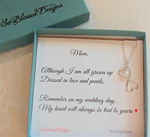 mother of the bride jewelry to mom from bride mother of the With wedding gifts for mother of bride