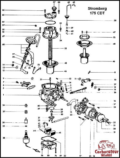 Mercede 220d Wiring Diagram by Mercedes Carburateur Onderdelen En Revisie Sets