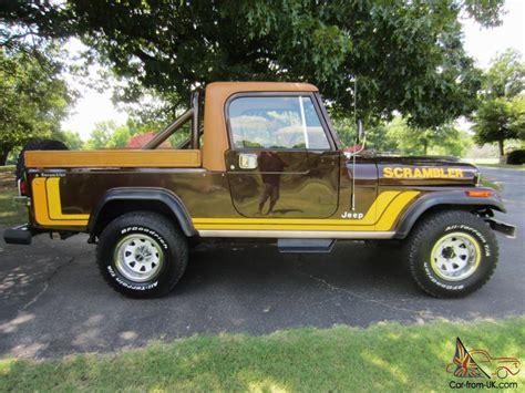 jeep scrambler 4 door 1981 jeep scrambler base sport utility 2 door 4 2l winch