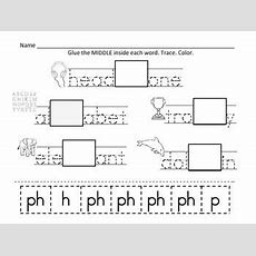 Ph Digraph Worksheets  Reading Ideas  Digraphs Worksheets, Phonics Activities, Word Work Centers