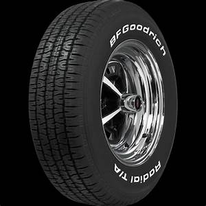 p245 60r14 bfgoodrich radial t a raised white letter tire With raised white letter tires