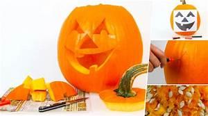 Comment Vider Une Citrouille : vider le bricolage et sculpter votre citrouille d 39 halloween faites le vous m me el blog de ~ Voncanada.com Idées de Décoration