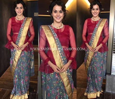 style  saree pallu   ways easy saree draping