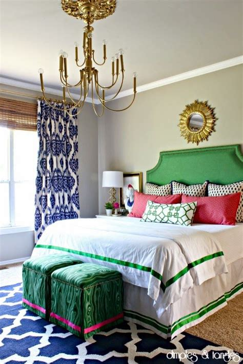 blue pink and green bedroom 15 must see bold colors pins bright color schemes