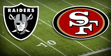 Bears, 49ers, ravens log victories as raiders panthers stumble a rundown of all the most notable moves on day 1 of the nfl draft Raiders vs 49ers Free Prediction - NFL Betting Odds