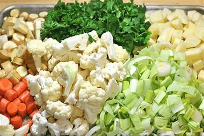 Vegetables Prepared Animated Vegetable Fruit Produce Cauliflower