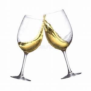 White wine glasses stock photo. Image of grape, glass ...