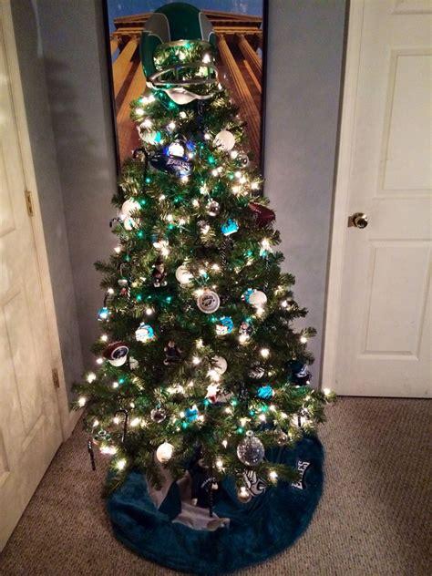 philadelphia eagles christmas tree christmas