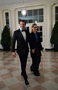 Bradley Cooper and Suki Waterhouse at White House state dinner
