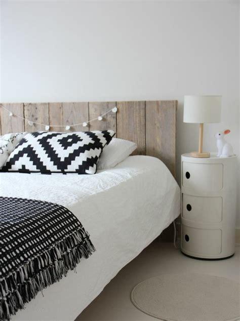 schlafzimmer modern schwarz wei 30 ideen für bett kopfteil märchenhafte und kunstvolle beispiele