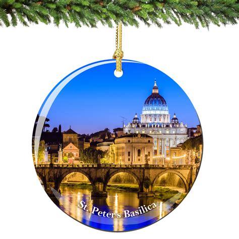 vatican christmas ornaments vatican st peters ornament porcelain