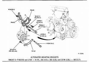 Ford 5 8 Engine Drive Belt Diagram