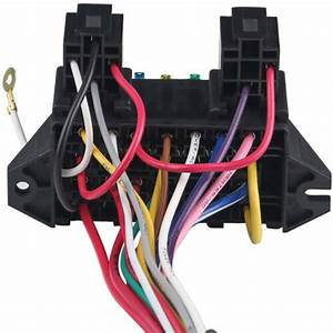 Car 12v Universal 12 Circuit Wiring Harness 12 Fuses Fit