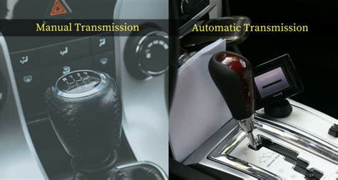 Automatic Car And Manual Difference