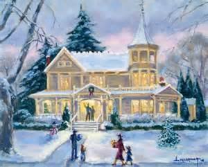 Victorian Christmas Scenes