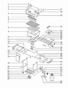 Weber 2251001 Parts List And Diagram