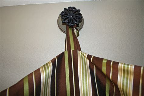 our embellished alternative to a curtain rod