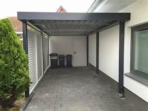 Moderne Carports Mit Glasdach : die besten 25 carport mit ger teraum ideen auf pinterest garage mit carport garage ~ Markanthonyermac.com Haus und Dekorationen