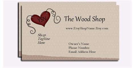 premium crafter business cards