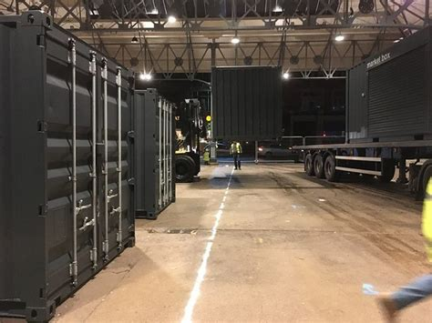 prestons shipping container box market set  begins blog preston