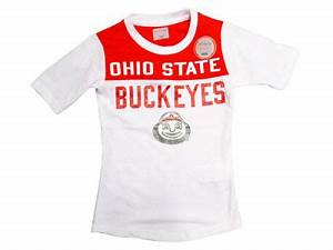 j america ncaa youth girls football t shirt apparel at With kitchen colors with white cabinets with what are the stickers on ohio state football helmets