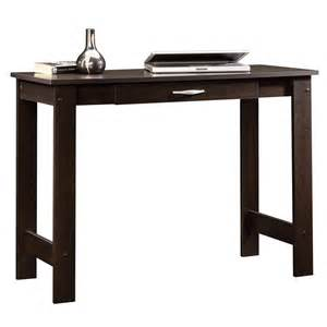 sauder beginnings cinnamon cherry writing desk 412885