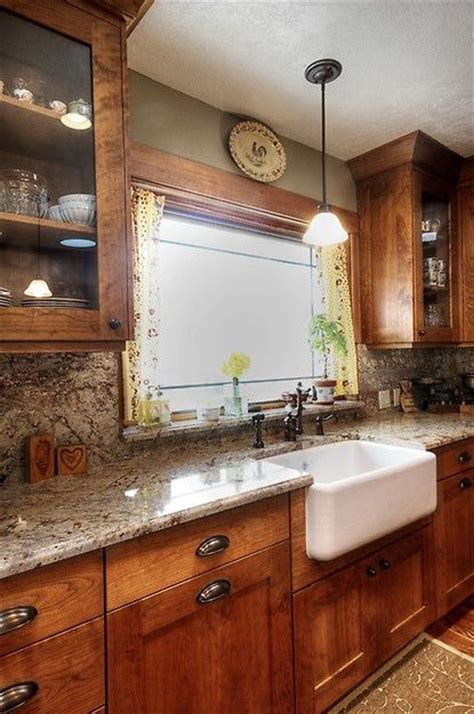 Glass Cabinets, Farm House Sink, Cabinet Color, Window