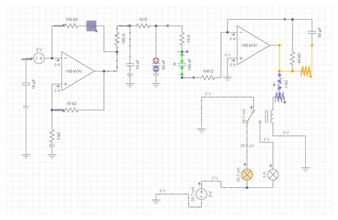 Designing Wig Wag Relay Circuit Electrical Engineering