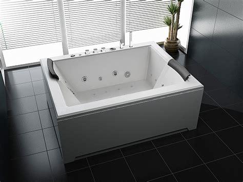 Luxus Whirlpool Indoor Badewanne 180x142 + Vollausstattung