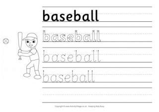 sports handwriting worksheets  images handwriting