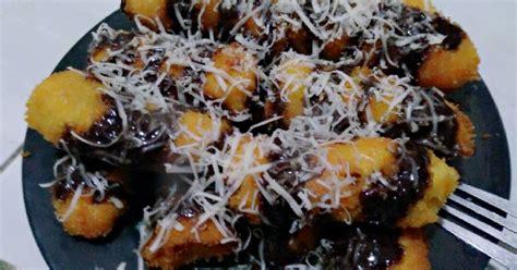 It's 4 buah of pisang kepok. Resep Pisang Goreng Crispy Cokelat dan keju😘 oleh Sisca Ardiana - Cookpad