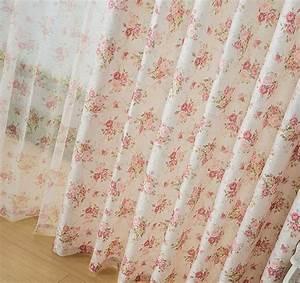 rideaux a fleurs style anglais atlubcom With déco chambre bébé pas cher avec faire envoyer des fleurs par internet