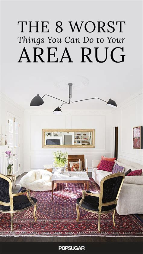 can you shoo an area rug the 8 worst things you can do to your area rug rugs flea markets and fleas