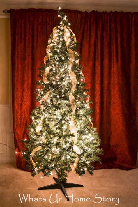 hang christmas tree lights whats ur home story