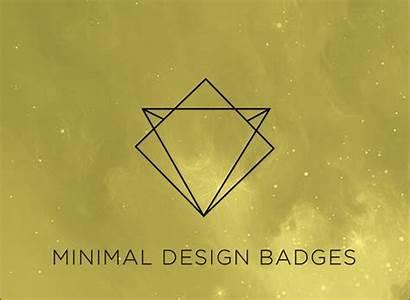 Minimal Badges Vector Psd Designs Icons Modern