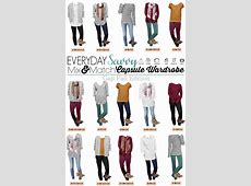 Fall Gap Capsule Wardrobe Mix & Match Outfits for Everyday