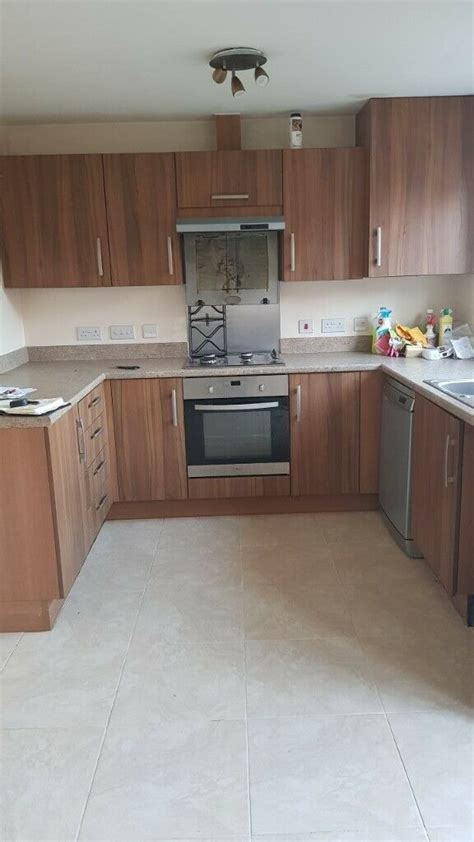 kitchen cupboards drawers oven sink tap dishwasher extractor fan  castle bromwich