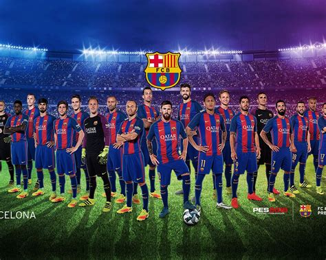 fc barcelona team photography  poster preview