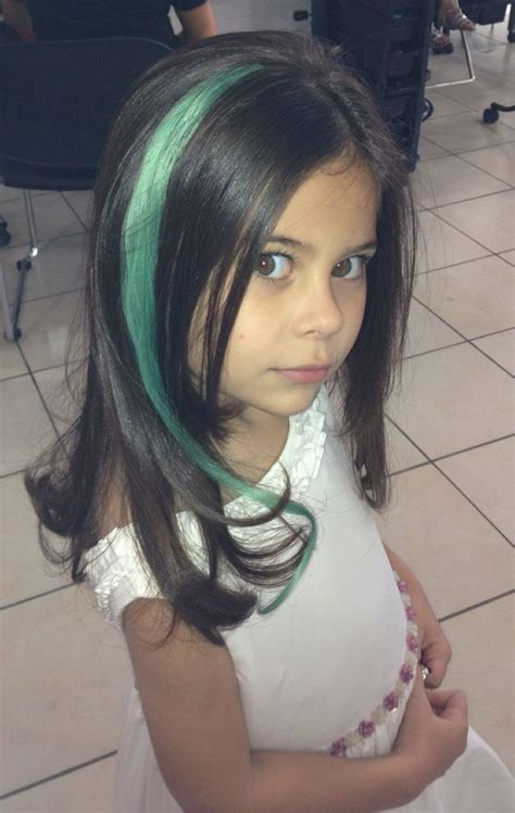 colored extensions colored hair extensions for kid with style
