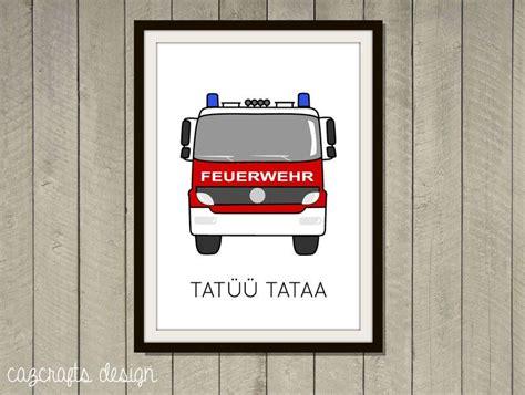 Kinderzimmer Junge Feuerwehr by Poster Feuerwehr A4 F 252 Rs Kinderzimmer Cazcrafts Design
